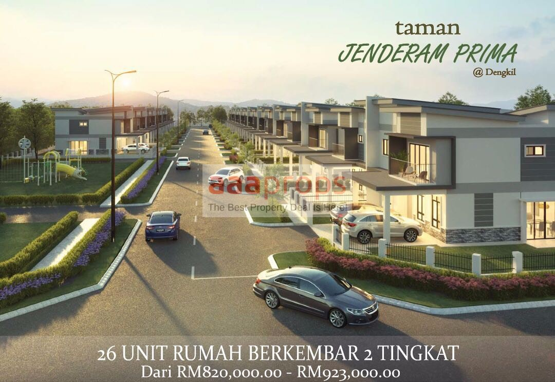 New Project Jenderam Prima, Semi-D House in Jenderam, Dengkil Discount 9% For Limited Time ONLY!