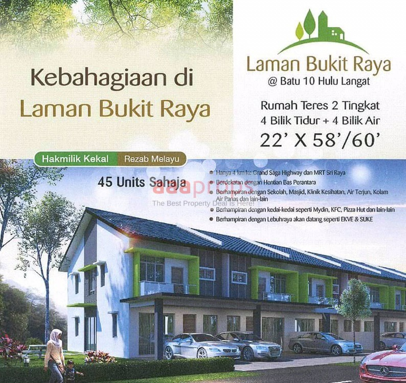 New Project 2-Storey Terrace House @ Batu 10 Hulu Langat
