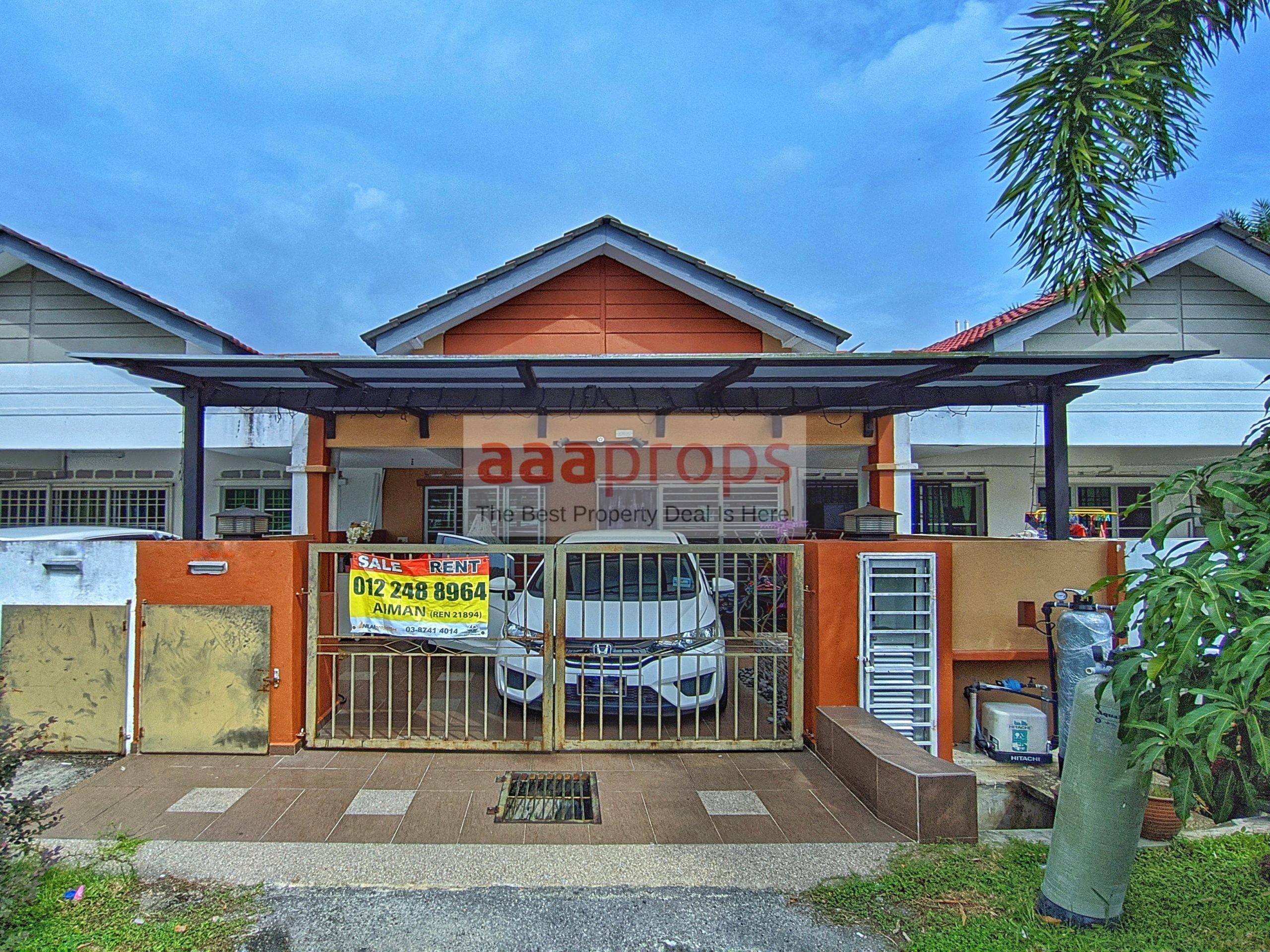 Single Storey Terrace @ Taman Bentara, Teluk Panglima Garang For Sale!