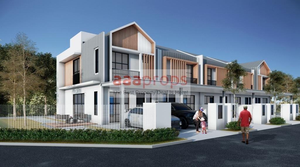 New Project Double Storey Terrace House, Sg Merab