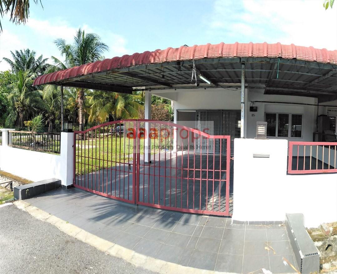 Single Storey Corner Lot @ Taman damai Banting, Selangor