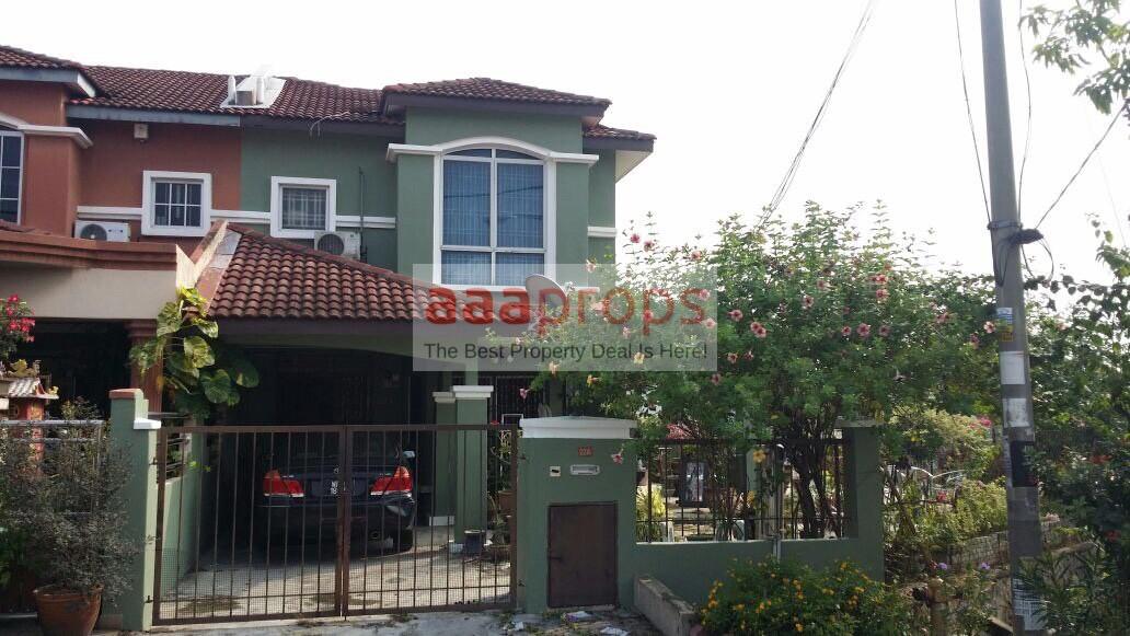 Double storey terrace @ kajang prima corner lot for sale