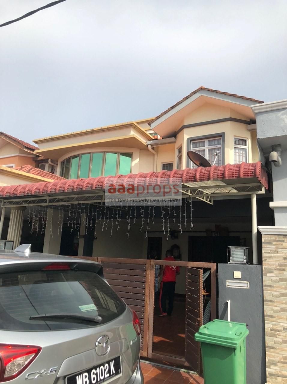 2 Storey Terrace Jalan Sungai Batu Taman Klang Utama