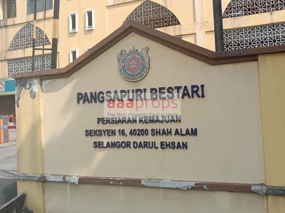 Pangsapuri Bestari Seksyen 16 Shah Alam