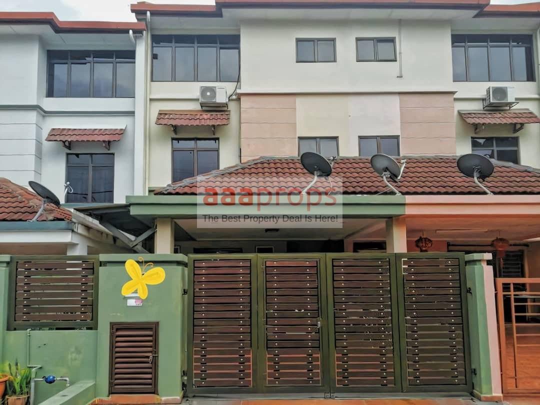 2 1/2 Storey link house in Taman Bukit Segar Cheras KL