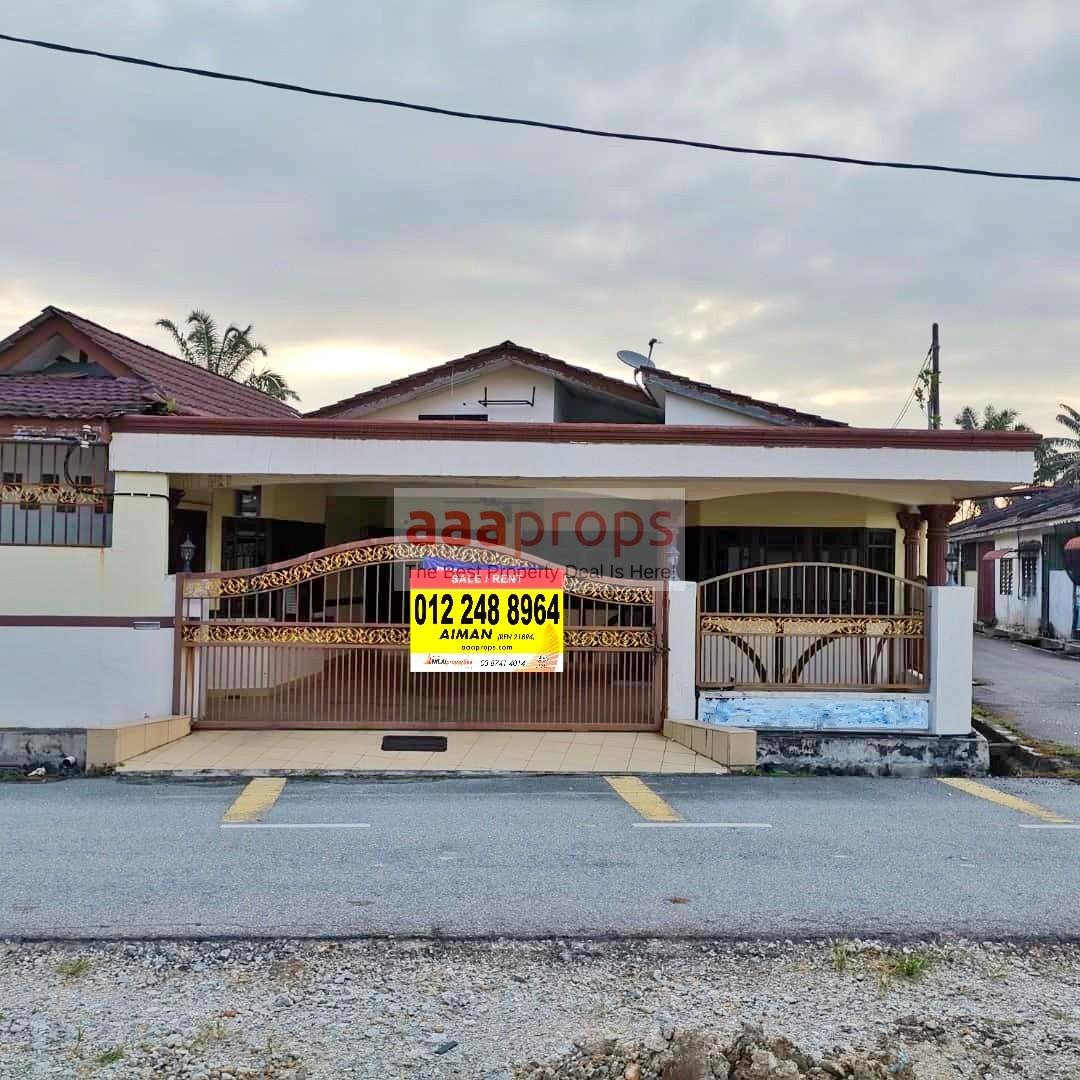Rumah Teres Setingkat Corner Lot Renovate/Extended @ Taman Mulia, Banting, Selangor