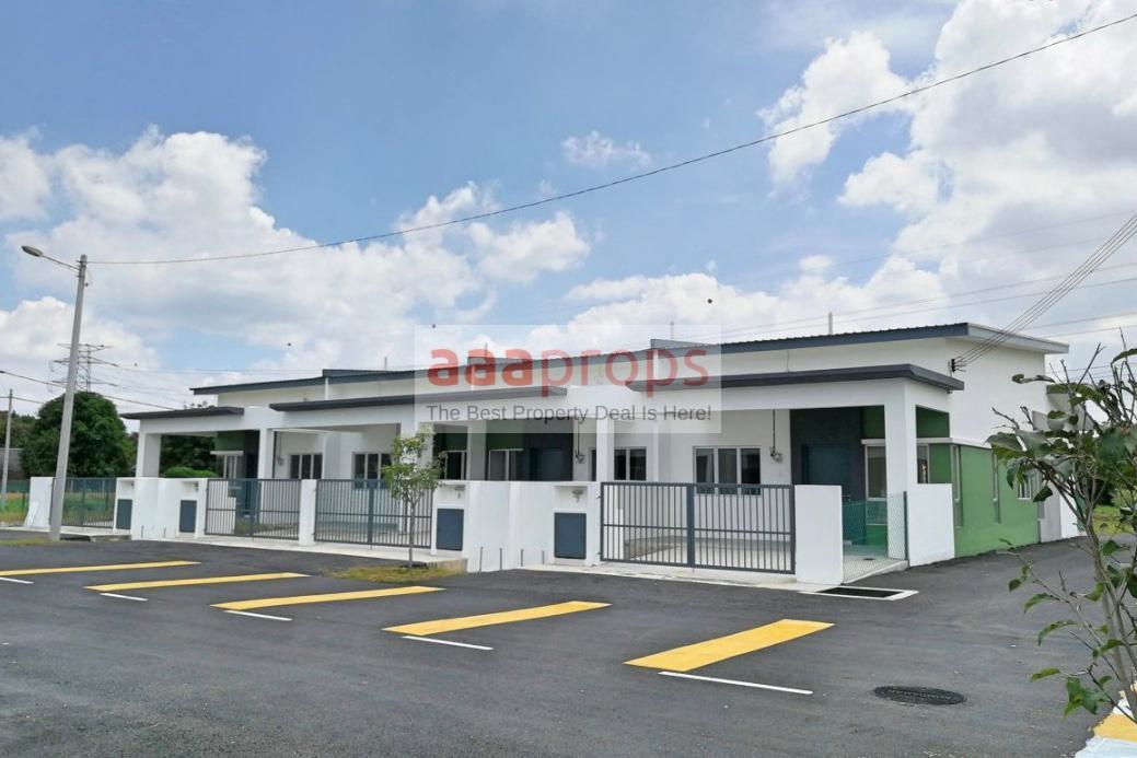 New Project Single Storey Terrace House @ Bukit Changgang Selangor
