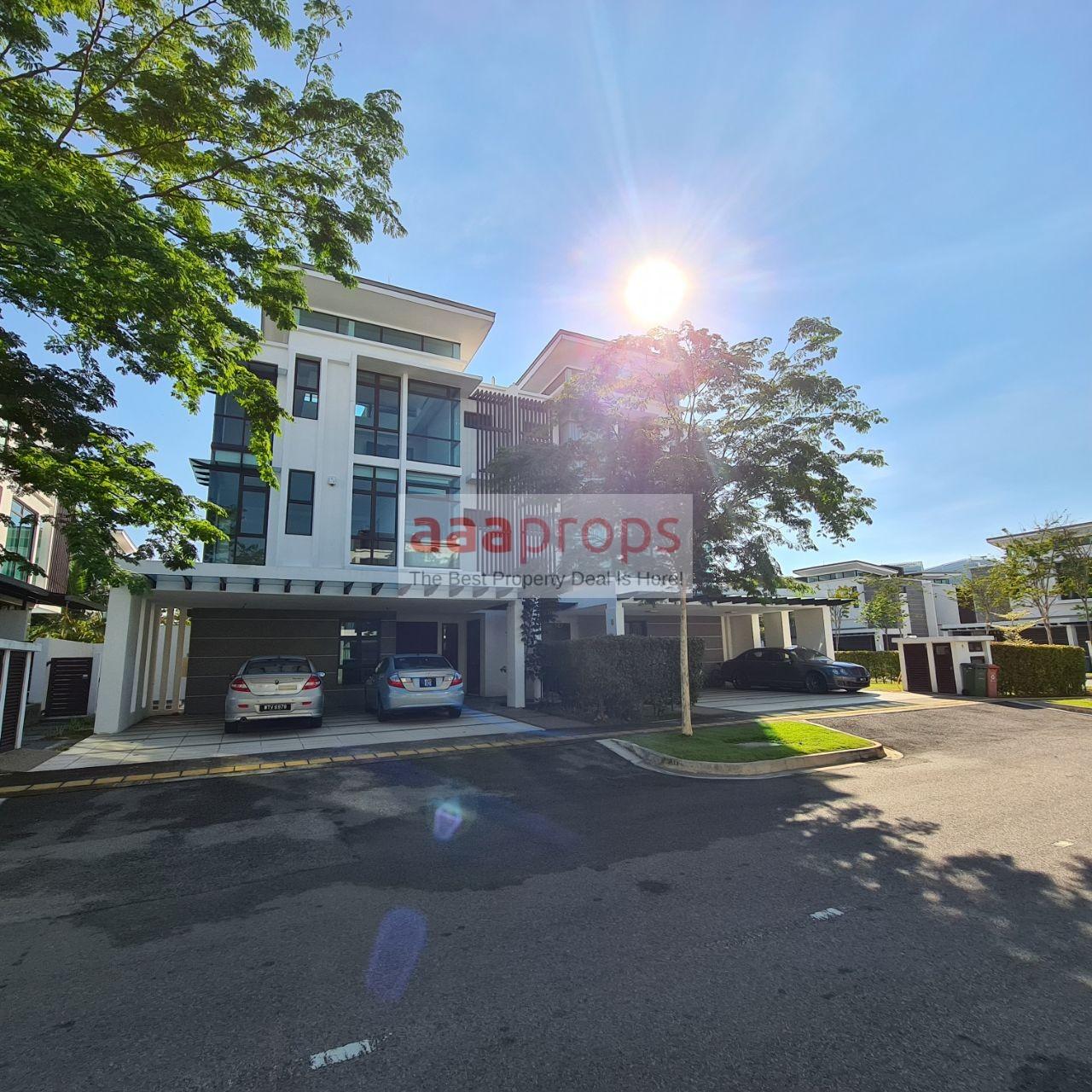 FERA TWINVILLA 3 Storey Semi – Detached Villa House Presint 8, Putrajaya