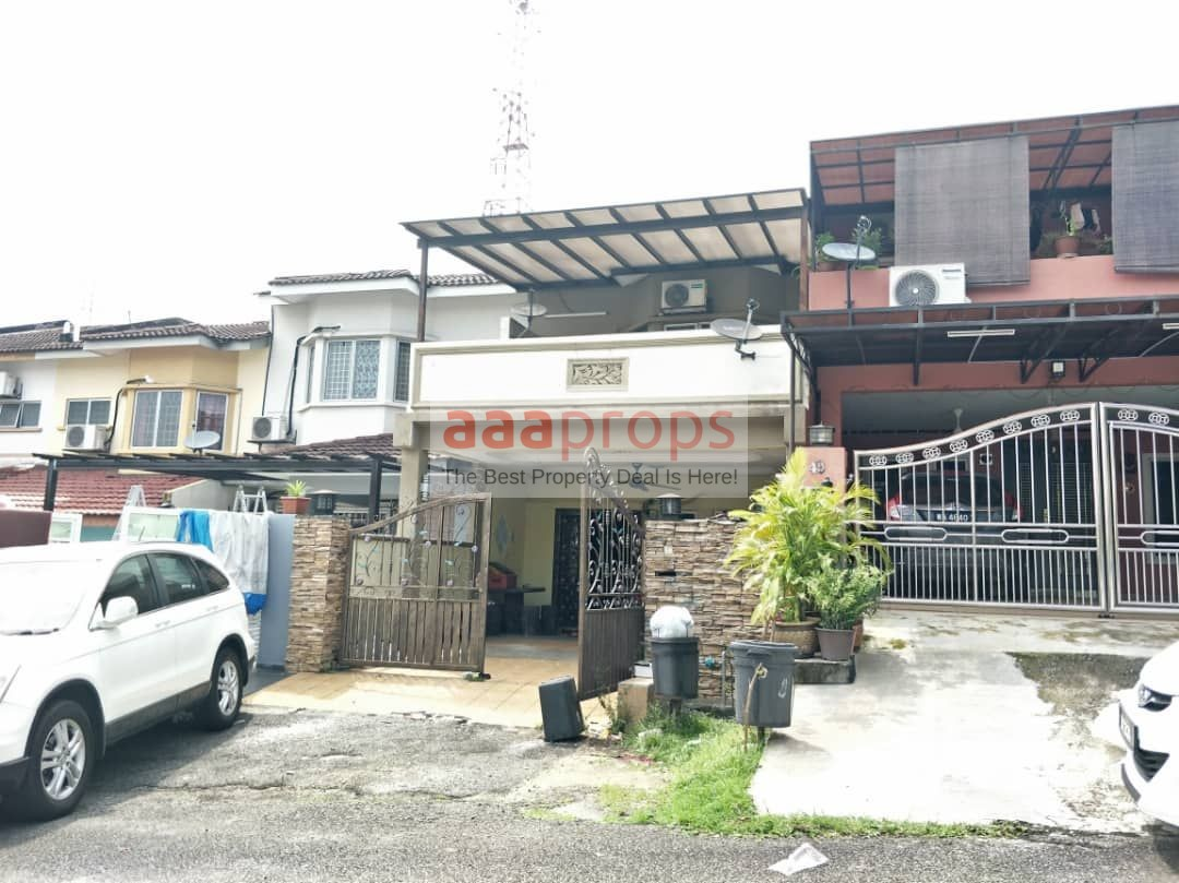 Renovated and Extended Double Storey PUJ 1/15, Seri Kembangan Puncak Jalil