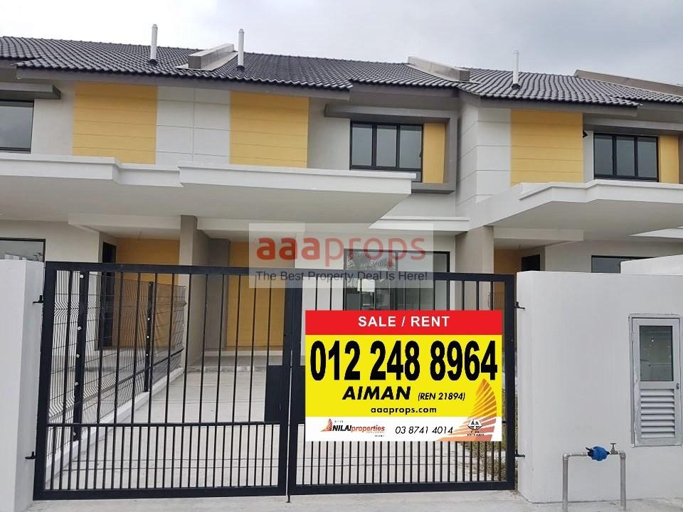 Double Storey Terrace Bandar Mahkota Banting
