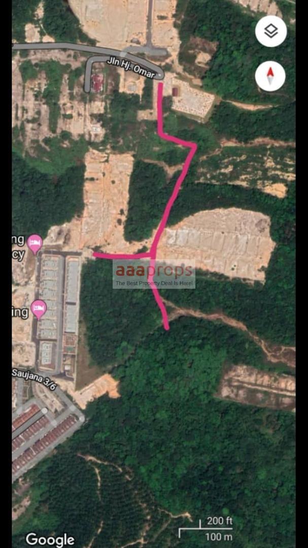 Lot Banglo Sg Merab Tanah bersebelahan Mutiara Keruing